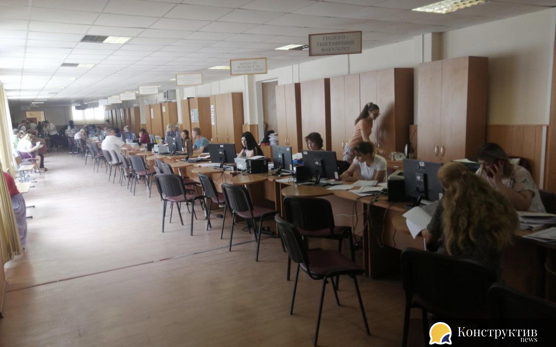 Вступна кампанія в одеських університетах триває
